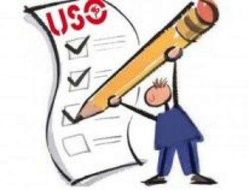 Ficha de afiliación a USO. Pago por nómina o por banco