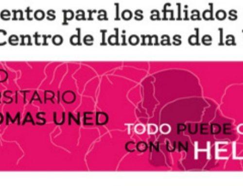 35% descuento a afiliados de USO para estudiar idiomas en la UNED